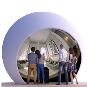 Tablet Dekor 360 Configuration room