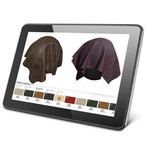Tablet Dekor 3d upholstery visualization